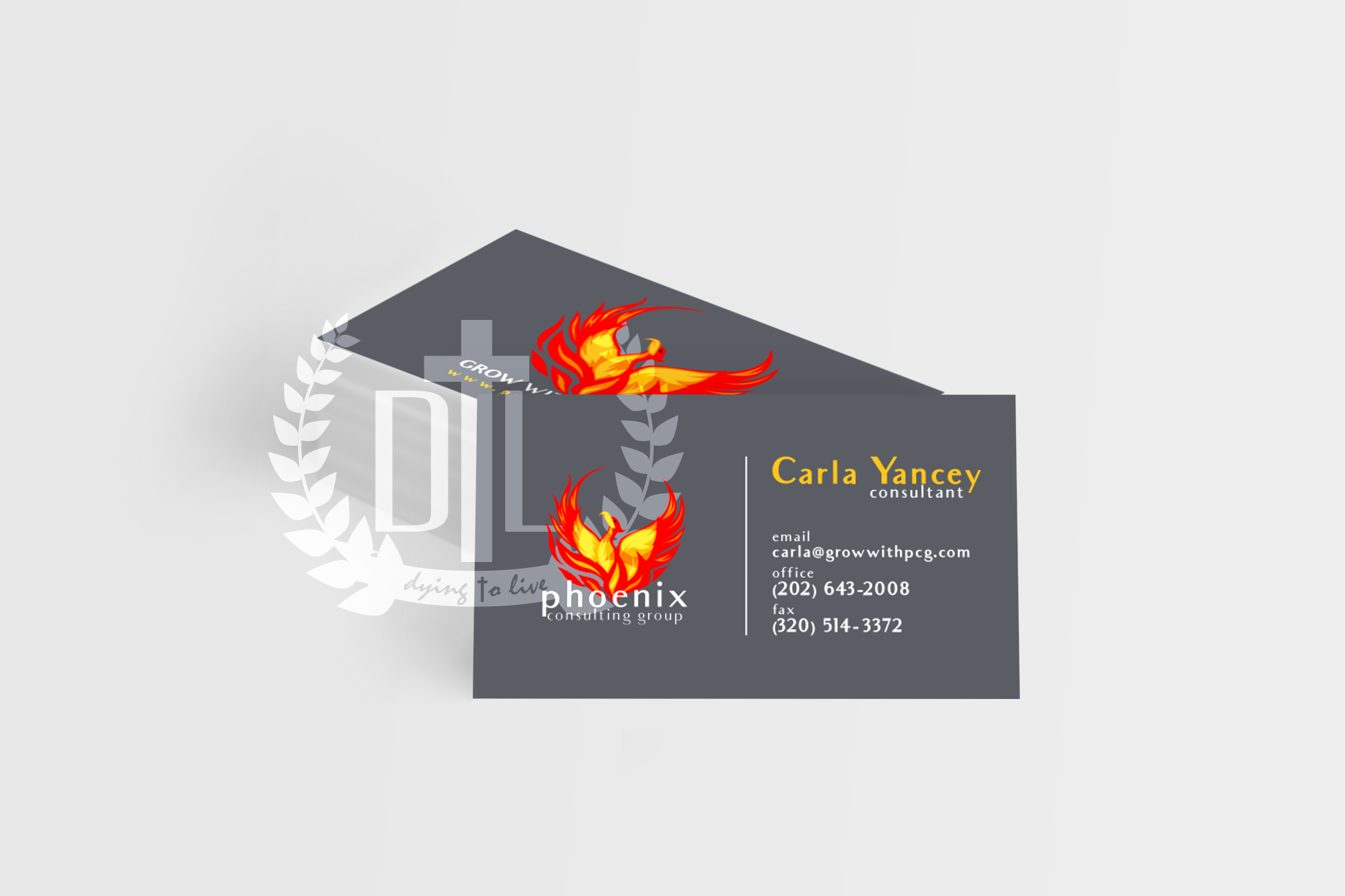 Phoenix Consulting Group Business Card